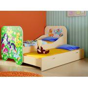 Кровать КР-6 для двоих детей серия Пони