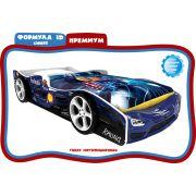 Формула 3D Премиум Синий + 2 объемных колеса