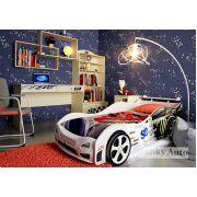 Детская комната Фанки Авто + кровать-машина Импульс Оптима