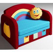 Раскладной мягкий диванчик Радуга
