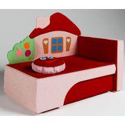Мягкий раскладной диванчик Домик