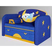 Детский раскладной диван Зайка