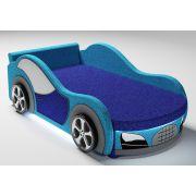 Детская кровать-машина Велюр