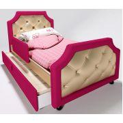 Детский раскладной диван Люксор с бортиком