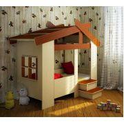 Кровать Домик ФК 13/64 для детей