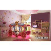 Детская мебель Китти + кровать-карета Золушка