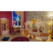 Детская кровать Карета Золушка + мебель Фея