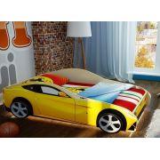 Детская кровать Феррари Фанки Ф-12 + 2 объемных колеса + подсветка. Акция!!!