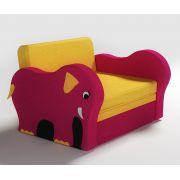 Широкий диван Слоник для мальчиков и девочек