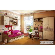 Готовая комната для детей Фанки Тревел