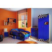Кровать-машина на подиуме Тесла + модули Фанки Авто.