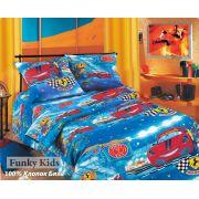 Постельное белье Гонки 1.5 спальный комплект