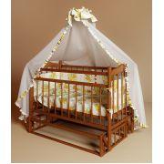 Кровать Фанки Литл для новорожденных с маятником