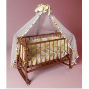 Кровать для новорожденных Фанки Литл с автостенкой