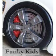 Дополнительные колеса объемные для кровати в виде машины Ниссан (1 пара)