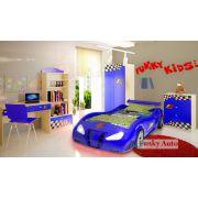 Кровать машина Фанки Энзо + мебель Фанки Авто