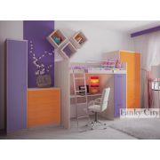 Готовая комната 1 для детей серия Фанки Сити