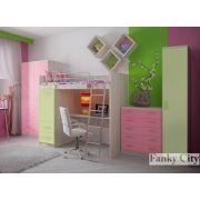 Детская комната 6 для одного ребенка серия Фанки Сити