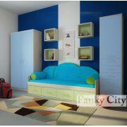 Комплект стильной подростковой мебели 8 серии Фанки Сити