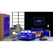 Кровать машина Молния Маккуин арт. 20005 в комплекте с мебелью Фанки Авто