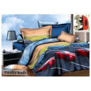Комплект детского постельного белья Ралли 3D
