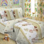 Постельное белье для малышей - Мишки Мини 1,5 спальное