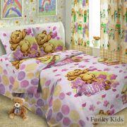 Комплект постельного белья Мишка Тедди 1,5 спальный