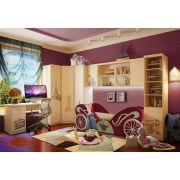Фанки Тревел в комнату для девочки + кровать диван карета арт 30002
