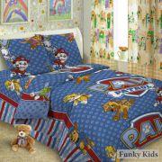 Комплект постельного белья - Щенячий патруль