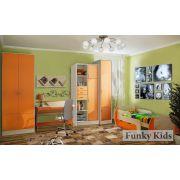 Кровать Вырастайка модель 3 + мебель Фанки Кидз