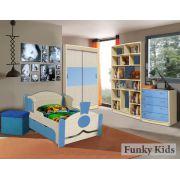 Готовая комната для детей Фанки Кидз + кровать Паровоз серия Вырастайка