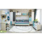 Комплект детской мебели 1 серия Индиго