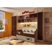 Мебель Фанки Кидз и диван для двоих детей Латте арт. 30005