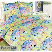 Детское постельное белье Чудо-пони, комплект 1.5 спальный, бязь