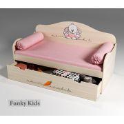 Кровать для детей Зайка, арт. 40004 с подушками