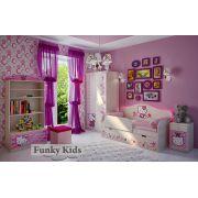 Комната для девочки Китик от Фанки Бэби / кровать с бортиком