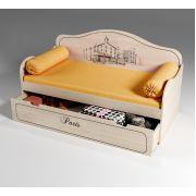 Кровать для детей Париж с выкатным ящиком, арт. 40010