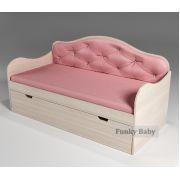 Кровать в виде диванчика Ажур, арт. 40012