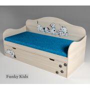Кровать в виде диванчика Далматинец, арт. 40001