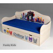 Кровать для мальчиков Трансформеры, арт. 40007