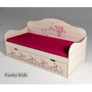 Низкая кровать для самых маленьких Мишка, арт. 40005