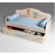 Кровать низкая для малышей Лучшие друзья, арт. 40006