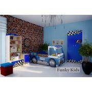 Кровать-машина Полиция + мебель Фанки Авто