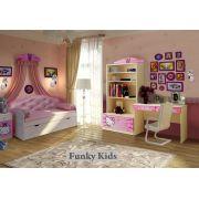 Кровать с каретной стяжкой Ажур, арт. 40012 + мебель Китик от Фанки Бэби