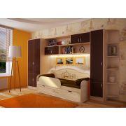 Комплект детской мебели: кровать Париж, арт. 40010 + модули Фанки Кидз