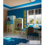 Мебель для детей Капитан Флинт композиция 3