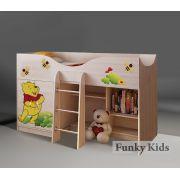 Серия Винни Пух кровать-чердак, арт. 40014