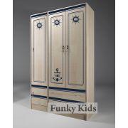 Трехдверный шкаф: КП-13/3 + пенал КП-13/10 мебель Капитан