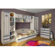 Мебель  Капитан - детская готовая комната 2
