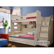 Двухъярусная кровать для детей Капитан, арт. КП-21